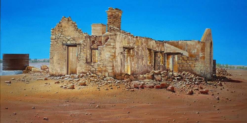 Ruins - Cadelga Outstation – outback South Australia
